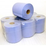 blue centrefeed roll 150m 60mm core