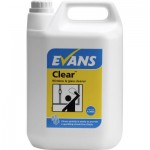 evans clear window and glass cleaner 5ltr