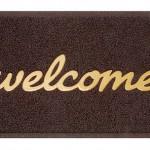logo entrance matting