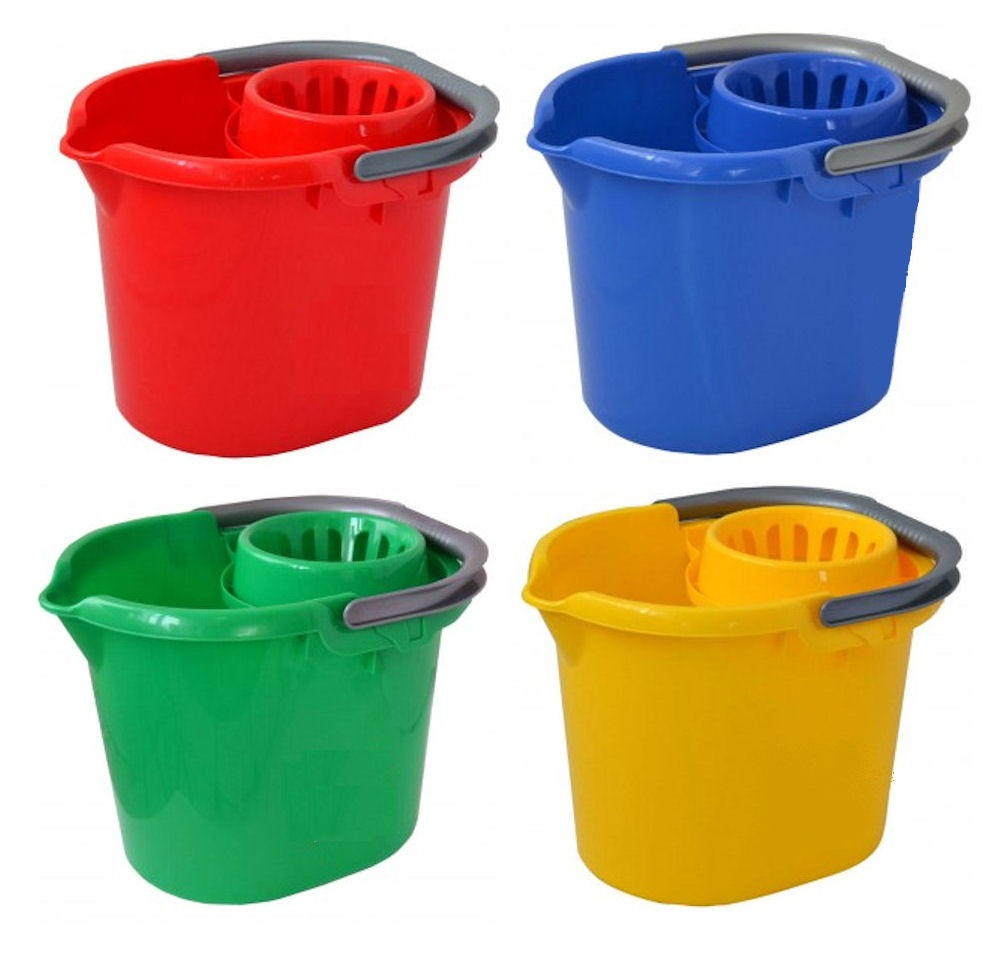 Plastic Mop Bucket With Wringer Doves Hygiene Services